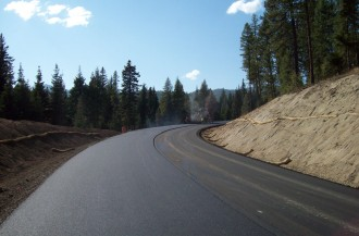 Anthony Lakes Repaving 2