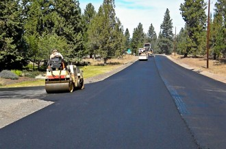 Camp Polk Road Paving