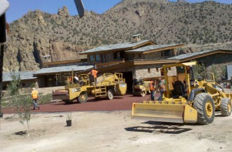 Canyons Ranch Driveway Prep