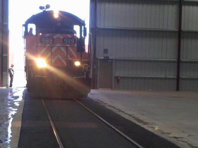Prineville Rail Depot Paving